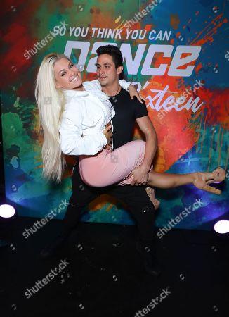 Oksana Platero and Jonathan Platero
