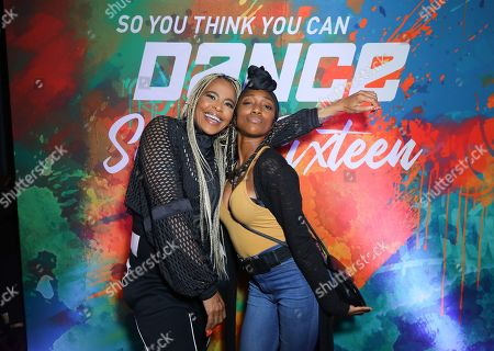 Laurieann Gibson and Comfort Fedoke