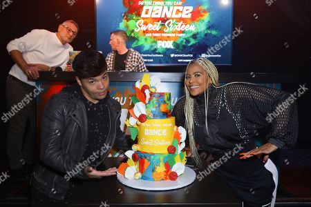 Dominic 'D-trix' S,oval and Laurieann Gibson