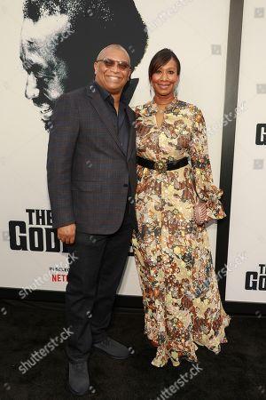"Reginald Hudlin, Nicole Avant. Reginald Hudlin and Nicole Avant attend the world premiere of ""The Black Godfather,"" at Paramount Studios, in Los Angeles"