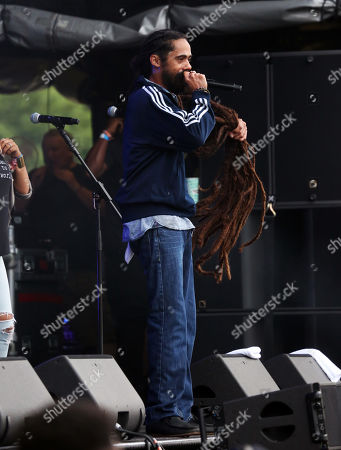 Stock Picture of Damian Marley
