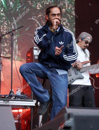 Stock Photo of Damian Marley
