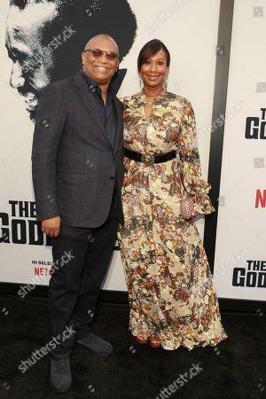 Reginald Hudlin, Nicole Avant. Reginald Hudlin and Nicole Avant attend the world premiere of the Black Godfather at Paramount Studios, in Los Angeles