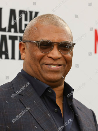 Reginald Hudlin attends the world premiere of the Black Godfather at Paramount Studios, in Los Angeles