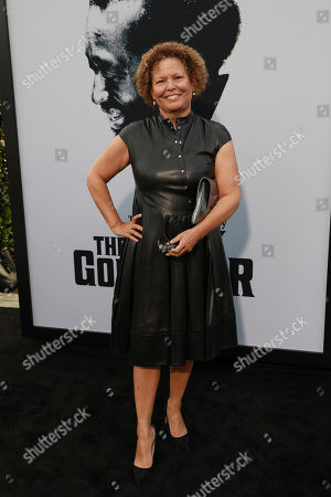 Chief Executive Officer of BET, Debra L. Lee attends the world premiere of the Black Godfather at Paramount Studios, in Los Angeles
