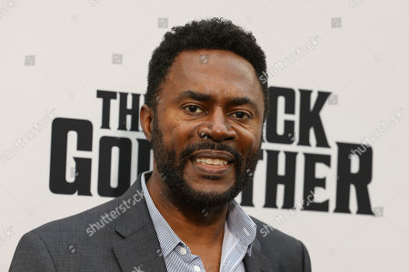 Richard Brooks attends the world premiere of the Black Godfather at Paramount Studios, in Los Angeles