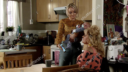 Ep 9796 Friday 14 June 2019 - 2nd Ep Beth Tinker's, as played by Lisa George, unimpressed as Ken takes photos for his photography class while Claudia minds Bertie. Asserting Bertie would be better off with her, Sinead Tinker, as played by Katie McGlynn, is amused to realise she's jealous.