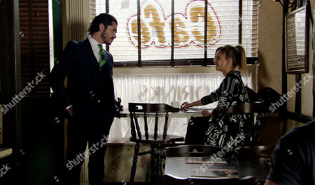 Ep 9792 Monday 10 June 2019 - 2nd Ep When Adam Barlow, as played by Sam Robertson, reveals that he's refused to act for Nick and has spoken to Peter who is going to talk to Carla to get official permission to put her in charge, Sarah Platt, as played by Tina O'Brien is shocked.