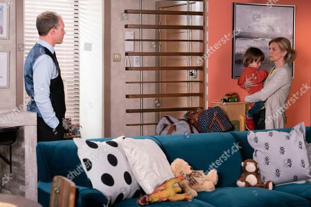 Ep 9790 Friday 7th June 2019 - 2nd Ep Nick Tilsley, as played by Ben Price, returns home to find Leanne Tilsley, as played by Jane Danson, with her bags packed and realises it's time to come clean.
