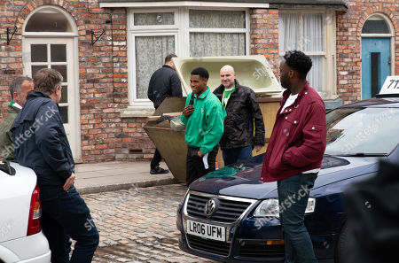 Ep 9802 Friday 21st June 2019 - 2nd Ep Michael Bailey, as played by Ryan Russell, invites Steve McDonald, as played by Simon Gregson, Tim Metcalfe, as played by Joe Duttine, Kevin Webster, as played by Michael Le Vell, and Jack Webster, as played by Kyran Bowes, down to James Bailey's, as played by Nathan Graham, training session, promising an access all areas tour. The lads return from their tour on a high but when James clocks Michael taking a fee from each of them, he's furious.