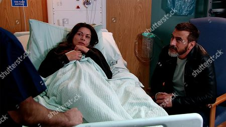 Ep 9785 Monday 3rd June 2019 - 1st Ep Peter Barlow, as played by Chris Gascoyne, visits a fragile Carla Connor, as played by Alison King. The doctor explains that they've found a place for her at a special unit but it's in Carlisle.