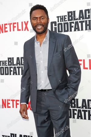 Stock Photo of Richard Brooks arrives for the world premiere of 'The Black Godfather' at the Paramount Theater in Hollywood, Los Angeles, California, USA, 03 June 2019. The movie opens globally 07 June 2019.