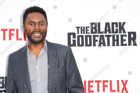 Stock Image of Richard Brooks arrives for the world premiere of 'The Black Godfather' at the Paramount Theater in Hollywood, Los Angeles, California, USA, 03 June 2019. The movie opens globally 07 June 2019.