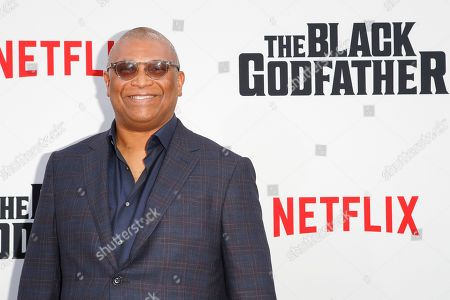 Reginald Hudlin arrives for the world premiere of 'The Black Godfather' at the Paramount Theater in Hollywood, Los Angeles, California, USA, 03 June 2019. The movie opens globally 07 June 2019.