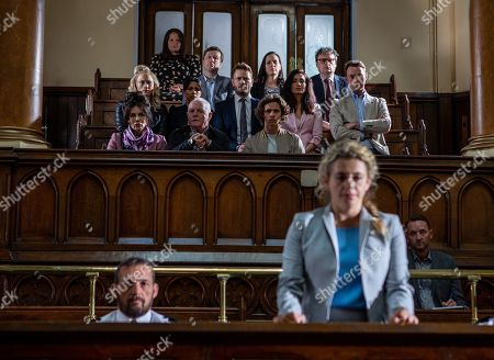 Ep 8511 Thursday 20th June 2019 - 1st Ep Maya, as played by Louisa Clein, receives her verdict. With Tracy Shankley, as played by Amy Walsh, Priya Sharma, as played by Fiona Wade, Faith Dingle, as played by Sally Dexter, Eric Pollard, as played by Chris Chittell, Jacob Gallagher, as played by Joe Warren Plant, David Metcalfe, as played by Matthew Wolfenden, Leyla Harding, as played by Rokhsaneh Ghawam-Shahidi, Liam Cavanagh, as played by Jonny McPherson.