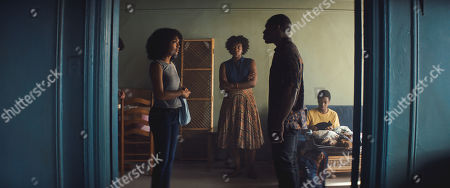 Yara Shahidi as Natasha Kingsley, Miriam A. Hyman as Patricia Kingsley, Gbenga Akinnagbe as Samuel Kingsley and Jordan Williams as Peter Kingsley