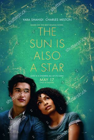 The Sun Is Also a Star (2019) Poster Art. Charles Melton as Daniel Jae Ho Bae and Yara Shahidi as Natasha Kingsley