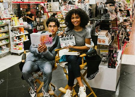 Charles Melton as Daniel Jae Ho Bae and Yara Shahidi as Natasha Kingsley