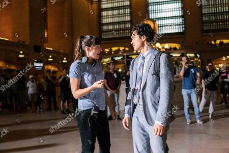 Ry Russo-Young Director and Charles Melton as Daniel Jae Ho Bae