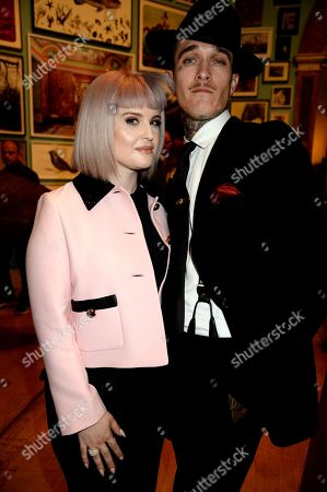 Stock Image of Kelly Osbourne and Jimmy Q