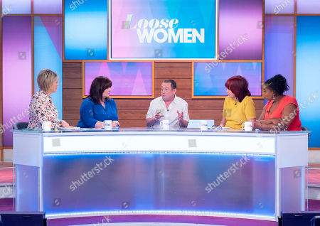 Ruth Langsford, Coleen Nolan, Lee MacDonald, Janet Street-Porter and Brenda Edwards
