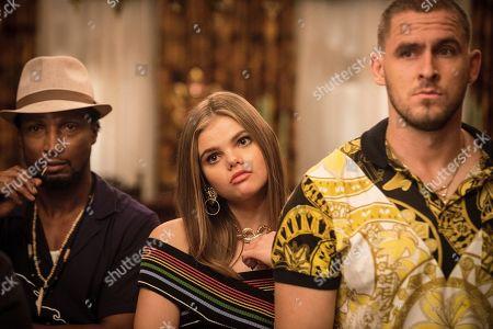 Elvis Nolasco as Chip Lauderdale, Katherine Reis as Olga and Jack Kesy as Roller Husser