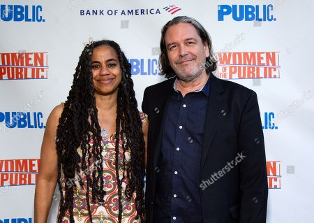 Suzan-Lori Parks and Christian Konopka