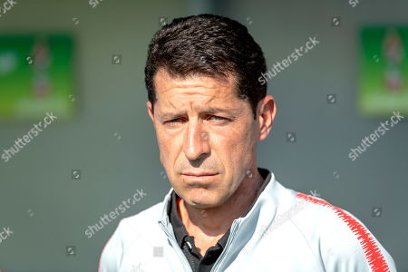 United States's head coach Tab Ramos during the FIFA Under-20 World Cup 2019, Round of 16 soccer match between France and USA at the Zdzislaw Krzyszkowiak Stadium in Bydgoszcz, Poland, 04 June 2019.