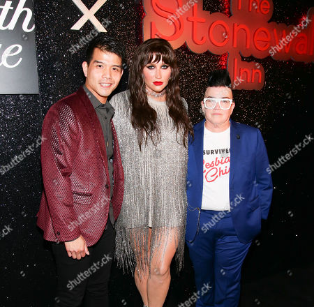 Telly Leung, Kesha, Lea DeLaria