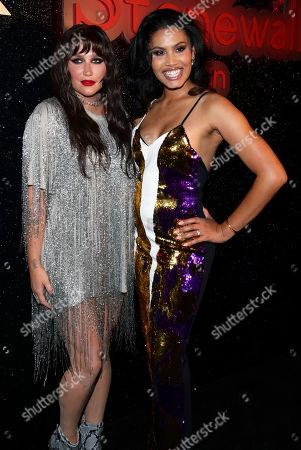 Kesha and Leyna Bloom