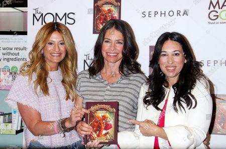 Denise Albert, Evangeline Lilly and Melissa Gerstein