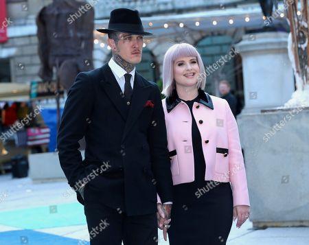 Kelly Osbourne and Jimmy Q