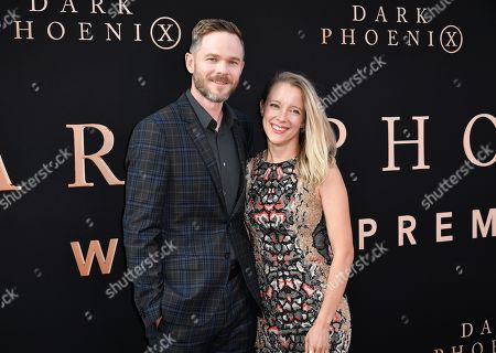 Shawn Ashmore and Dana Wasdin