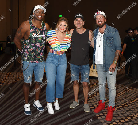 Jimmie Allen, Lauren Alaina, Craig Campbell and Stephen Liles of Love and Theft