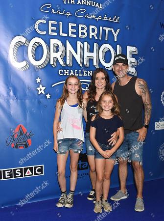 Editorial photo of Craig Campbell Celebrity Cornhole Challenge benefiting Fight Colorectal Cancer, Nashville, USA - 04 Jun 2019