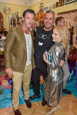 Luke Evans, Fat Tony, Kylie Minogue