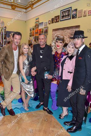 Luke Evans, Kylie Minogue, Fat Tony, Jodie Harsh, Kelly Osbourne