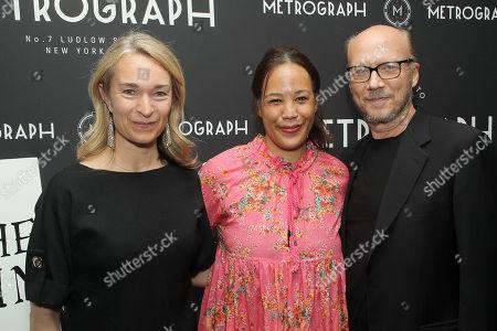 Celine Rattray, Margaret Betts, Paul Haggis