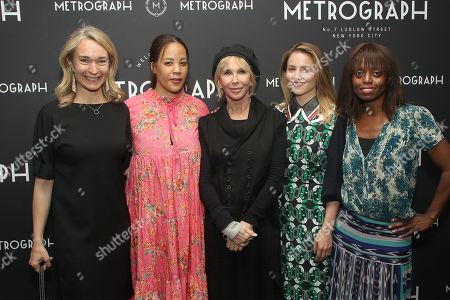 Celine Rattray, Margaret Betts, Trudie Styler (Producer), Dianna Agron, Dee Poku
