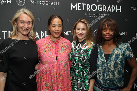 Celine Rattray, Margaret Betts, Dianna Agron, Dee Poku