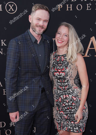 Stock Image of Shawn Ashmore and wife Dana Wasdin