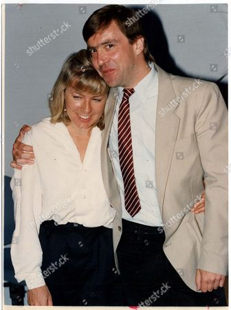 Journalist - John Mccarthy With Jill Morrell In 1991. The Results Of Seven Weeks Of Freedom Showed In John Mccarthy Yesterday. Relaxed And Joking With Woman Who Campaigned For His Release He Said: We Are Two Ordinary People Getting To Know Each Other Again. It's Very Nice'. Mccarthy Who Kept A Beirut Newspaper Photograph Of Jill Morrell During His Time As A Hostage Was Asked If They Would Marry. He Said: 'i Don't Know. We're Just Picking Up The Pices And Carrying On. It's Too Soon To Say'. But Did They Consider Themselves To Be A Couple Of Again? 'yes' He Said: 'i Like To Think That'. Mccarthy Was Speaking At A Full Press Conference On His Return From His 1 943-day Kidnap Ordeal. Pkt4827-350000