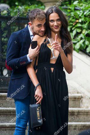 Stock Picture of Dalianah Arekion and her boyfriend