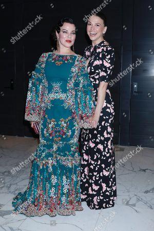 Debi Mazar and Sutton Foster