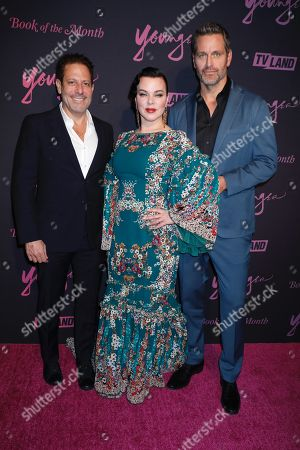 Darren Star, Debi Mazar and Peter Hermann