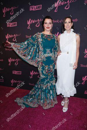 Debi Mazar and Miriam Shor