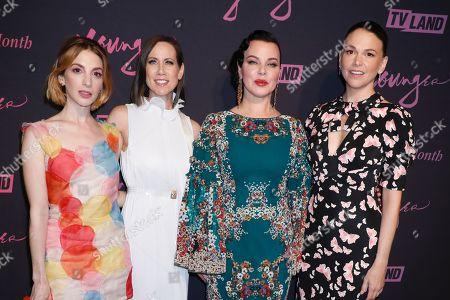 Molly Bernard, Miriam Shor, Debi Mazar and Sutton Foster