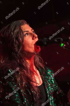 Editorial picture of Julia Holter in concert at The Castle and Falcon, Birmingham, UK - 04 Jun 2019