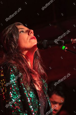 Editorial photo of Julia Holter in concert at The Castle and Falcon, Birmingham, UK - 04 Jun 2019