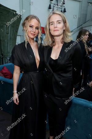 Stock Photo of Jennifer Lawrence, Emma Watts, Vice Chairman of Twentieth Century Fox Film,